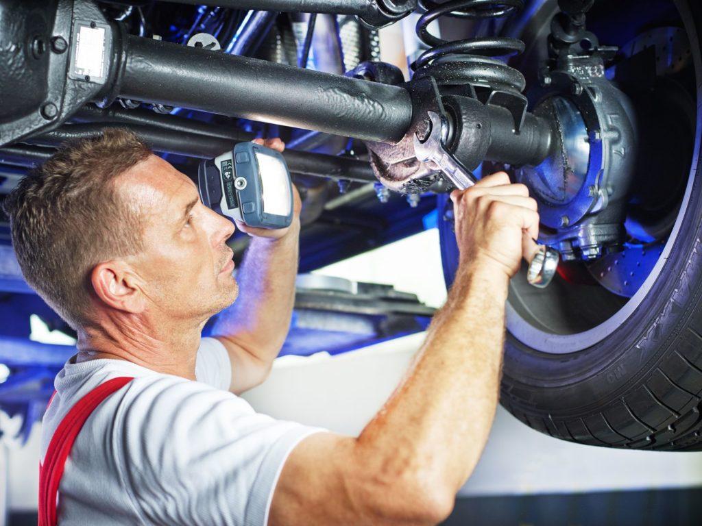 Диагностика и ремонт ходовой части автомобиля
